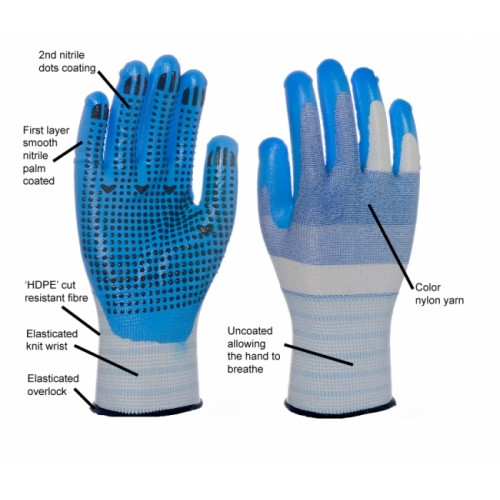 2RABOND Cut Resistant Gloves CR30 TAWI-14