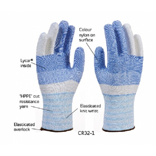 2RABOND Cut Resistant Gloves CR32 POLAR KING 3