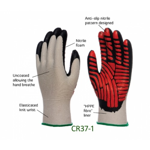2RABOND Cut Resistance Gloves CR37 Safetymen