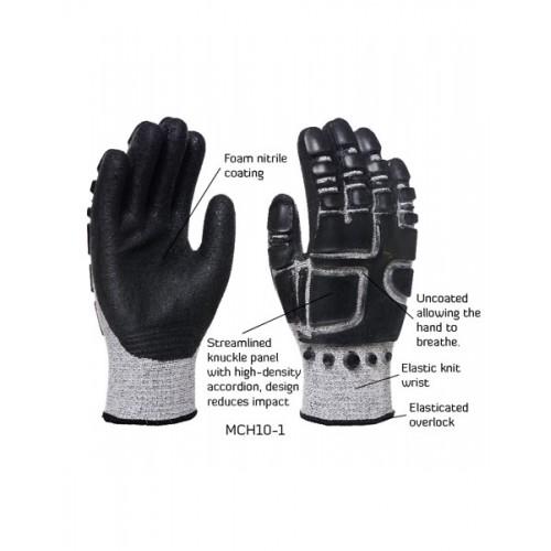 2RABOND Mechanical Impact & Anti Vibration Gloves MCH10 Robotcop 5