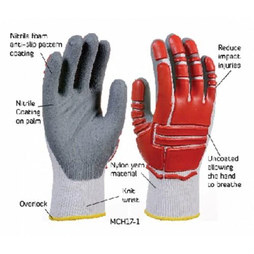 2RABOND Mechanical Impact & Anti Vibration Gloves MCH17 U9TED 2