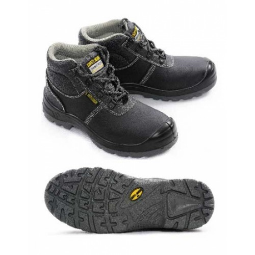 SAFETY JOGGER Safety Boots SAFETYBOY S1P 36/47 STEEL/STEEL