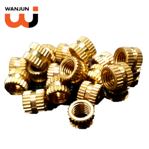 Customized Brass Threaded Inserts for Electrical Parts, Plastic Injection Moulding and Housing