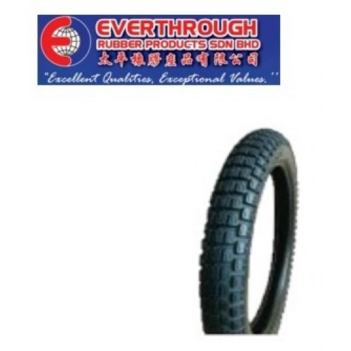 Everthrough Rubber Products Motorcycle Street Tyres KT-105