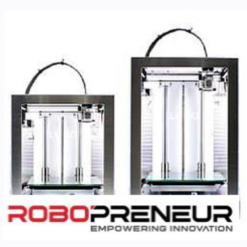 LUGO L PRO Advanced Multi-color Printing Technology 3D Printer by Robopreneur