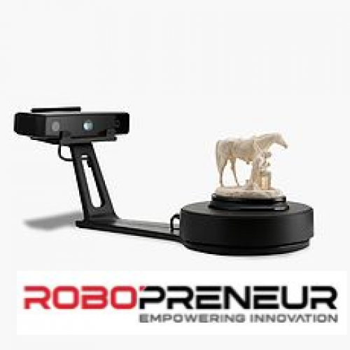 EINSCAN 3D SE New Generation Desktop 3D Scanner by Robopreneur Malaysia