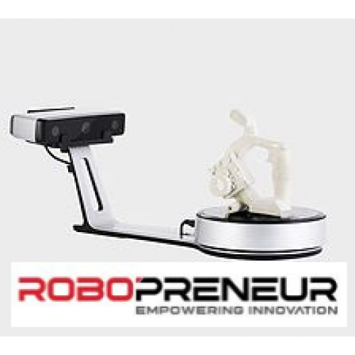 EINSCAN 3D SP New Generation Desktop 3D Scanner by Robopreneur