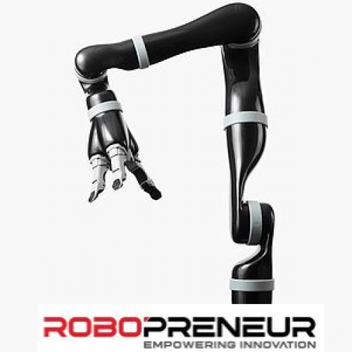 KINOVA JACO2 Flexible Robotic Arm Service Robot by Robopreneur