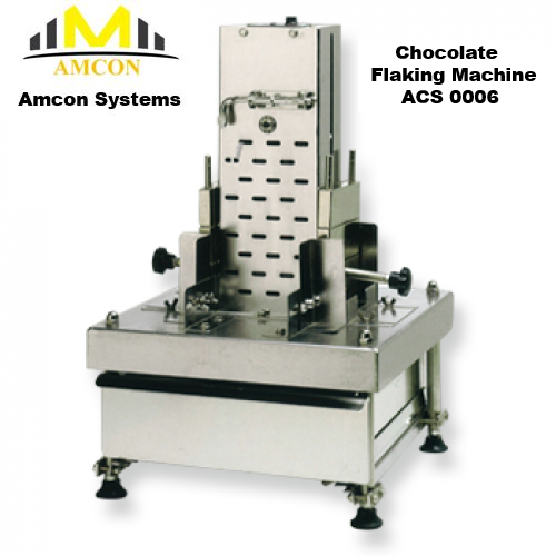 Chocolate Flaking Machine ACS 0006 Amcon Systems Sdn Bhd Malaysia food machine maker