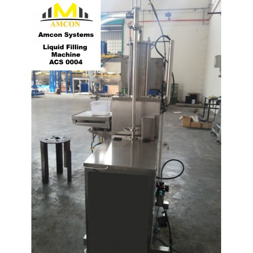 Liquid filling machine Volumetric oil filling machine ACS 0004 , Amcon Systems Sdn Bhd