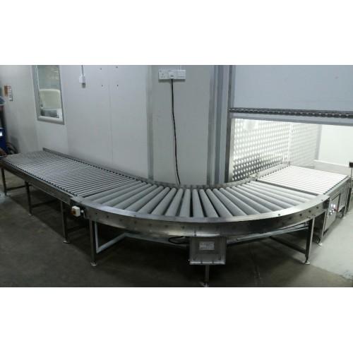Roller Conveyor , standard or custom made assembly line conveyor