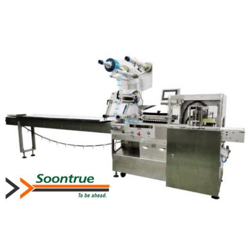 Soontrue Manual Feeding Horizontal Biscuit Packing Machine series SW60