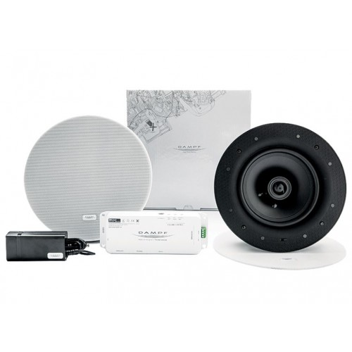 Hotel In-Room Bluetooth Professional Audio Set with Recessed Speakers