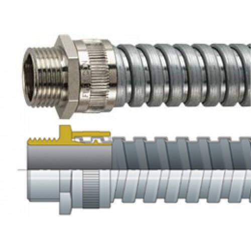 Flexicon Flexible Conduit FU12 25m Galvanised steel conduit