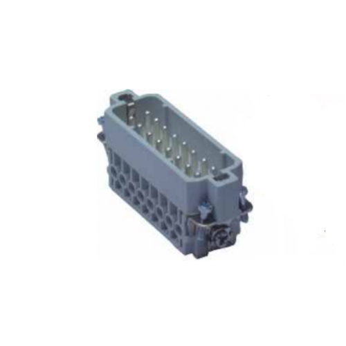 Multipole electrical connector Screw Terminal 16 pins ICO CA Male