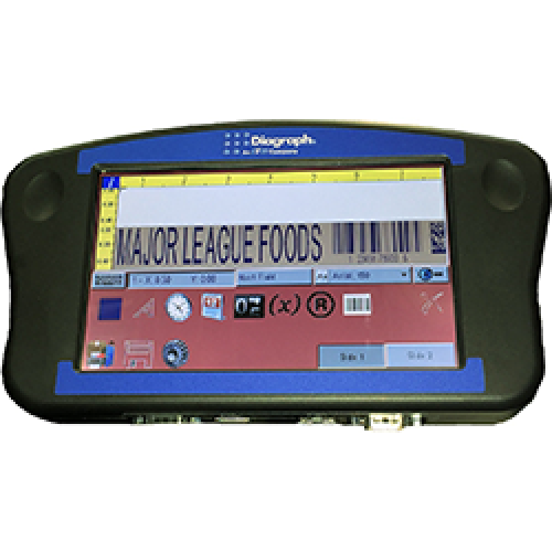 Thermal Ink Jet Printer Handheld Controller with High Resolution Touchscreen Display IJ4000 HH