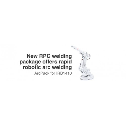 ABB Rapid Robotic Arc Welding IRB 1410