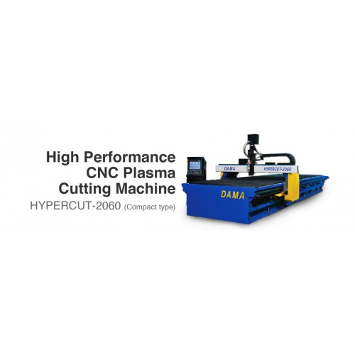 DAMA CNC Cutting & Drilling Machine System High Performance CNC Plasma Cutting Machine HYPERCUT-2060 (Compact Type)