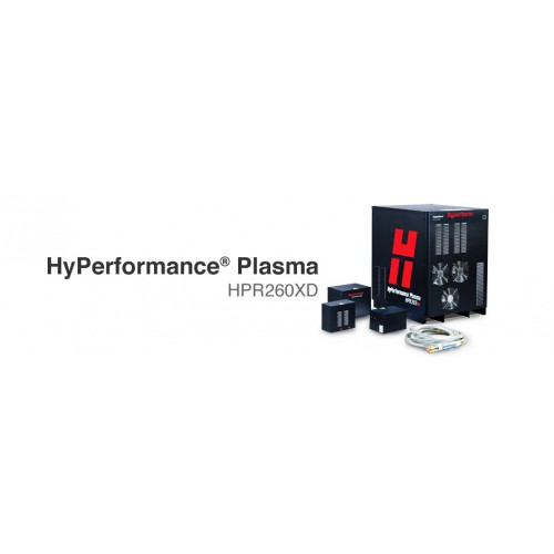 Hypertherm Plasma Metal Cutting System Hyperformance Plasma HPR 260XD