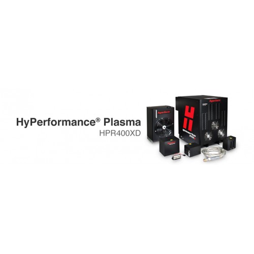 Hypertherm Plasma Metal Cutting System Hyperformance Plasma HPR 400XD