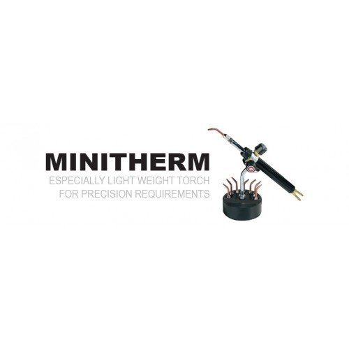MESSER Oxy- Fuel Cutting & Welding Technology MINITHERM Especially Light Weight Torch for Precision Requirements