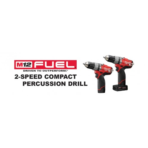 Milwaukee M12™ Fuel 2 - Speed Compact Percussion Drill (MK-12CPD)