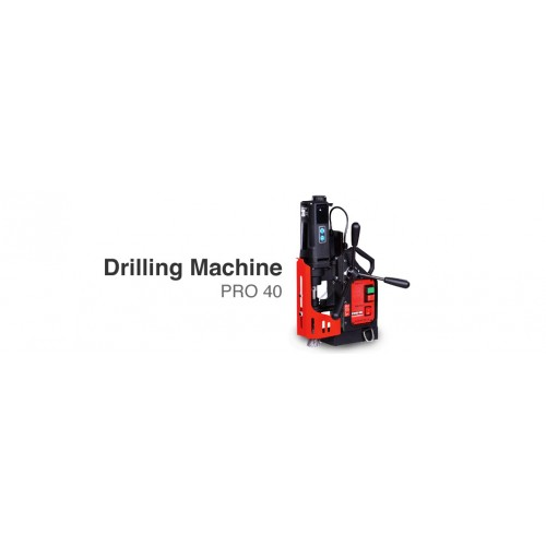 PROMOTECH Smart Tools For Heavy Tasks Magnetic Base Drilling Machine PRO 40