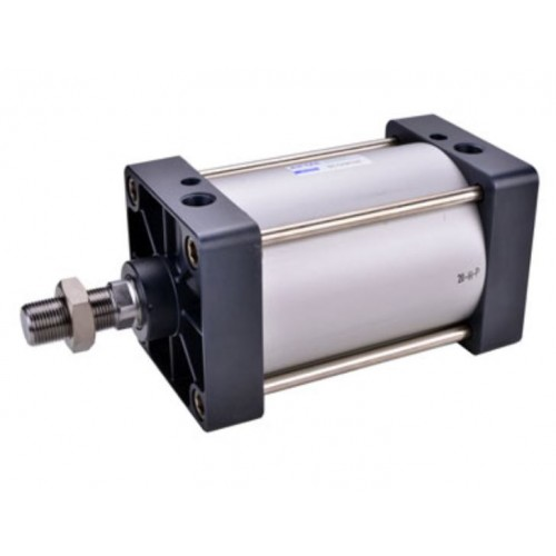 Airtac Pneumatic Actuator Standard Cylinder, SCD Big Bores series Tie-Rod Double Rod Type