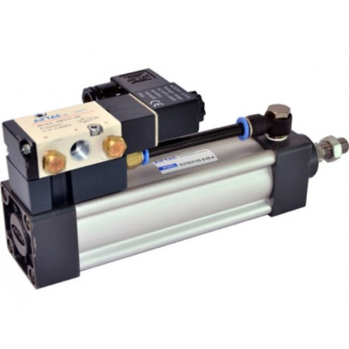 AirTAC Pneumatic Actuator Standard Cylinder, SUF series Double Acting with Valve Type