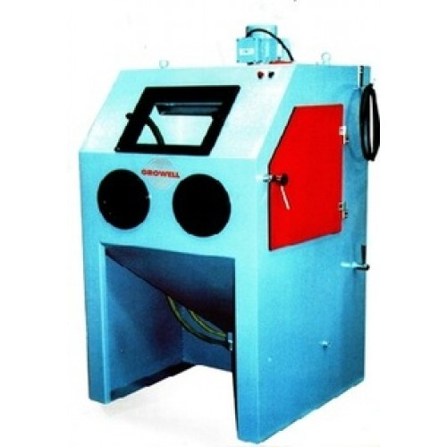 Growell Shot Blast Manually Operated Blast Systems Suction Hand Blast Cabinet -- GMSB Engineering