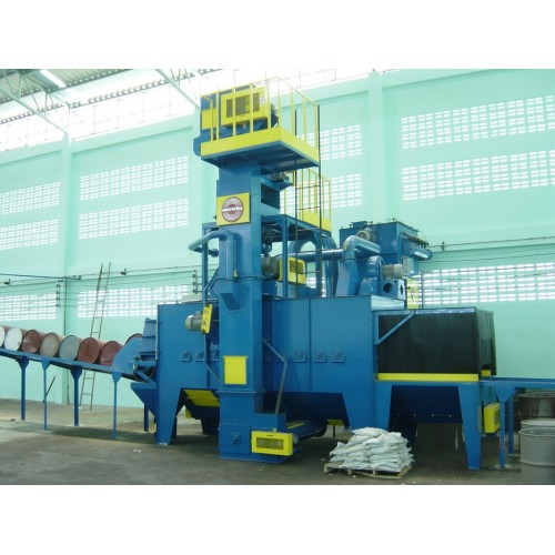 Growell Shot Blast Machine Fully Automated Blast Systems Drum Blast Machine -- GMSB Engineering
