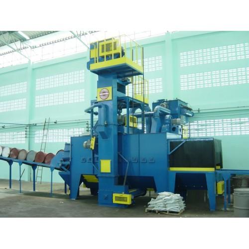 Growell Shot Blast Machine Fully Automated Blast Systems Drum Blast Machine -- GMSB Engineering