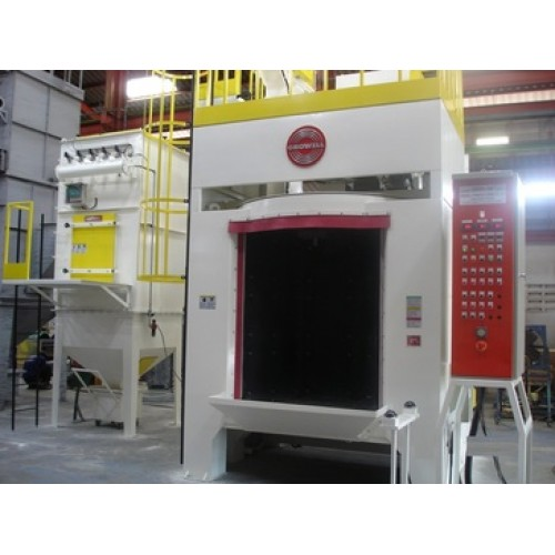 Growell Shot Blast Machine Fully Automated Blast Systems Rotary hanger Type -- GMSB Engineering