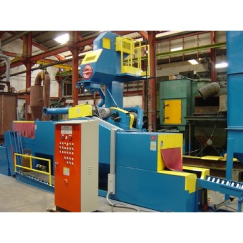 Growell Shot Blast Machine Fully Automated Blast Systems Gas Cylinder Blast Machine -- GMSB Engineering