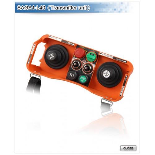 Industrial Remote Controller Double Joysticks Type SAGA1 Crystal Series SAGA1-L40