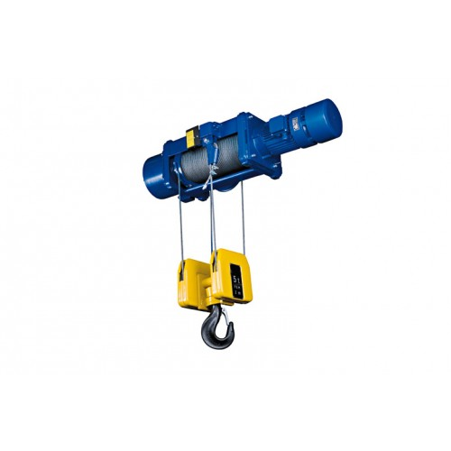 Podem Electric Wire Rope Hoists Foot Mounted Hoist MT series, 2 rope falls (reeving 2/1)