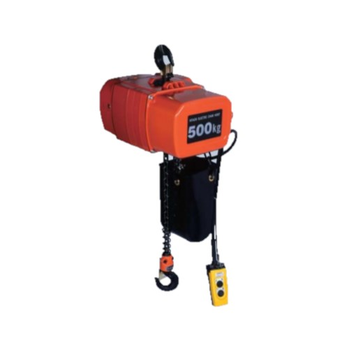 Hitachi Electric Chain Hoist SH series Suspension Type Single Speed 3 Phase With Chain Driven Trolley BC Load 250kg to 5t