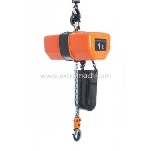 Hitachi Electric Chain Hoist FN series Suspension Type Dual Speed 3 Phase With Chain Driven Trolley BC Load 2t to 5t