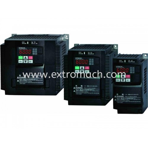 Hitachi Inverter WJ200 series Single Phase 100V Class Inverter for 0.4kw to 0.75kw Motors