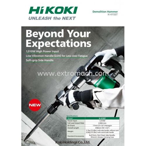 Hikoki 1,010W 5kg Demolition Hammer H41SST
