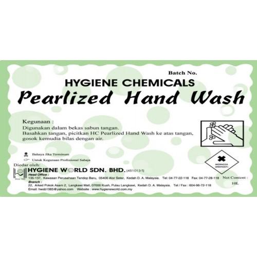 Hygiene Chemicals HC Pearlized Hand Wash