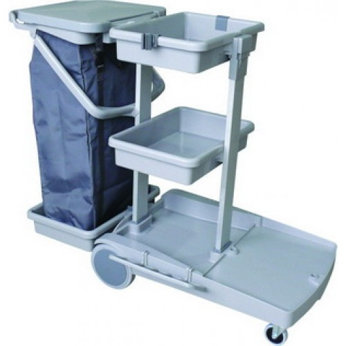 CT JT 100 Janitor Cart come with 120L Zipper Nylon Bag
