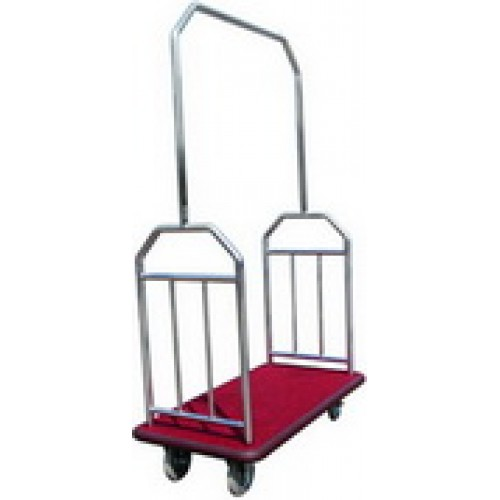 TY-103S Stainless Steel Baggage Trolley